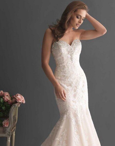 Свадебное платье напрокат Allure Bridals Платье свадебное 2667 - фото 3