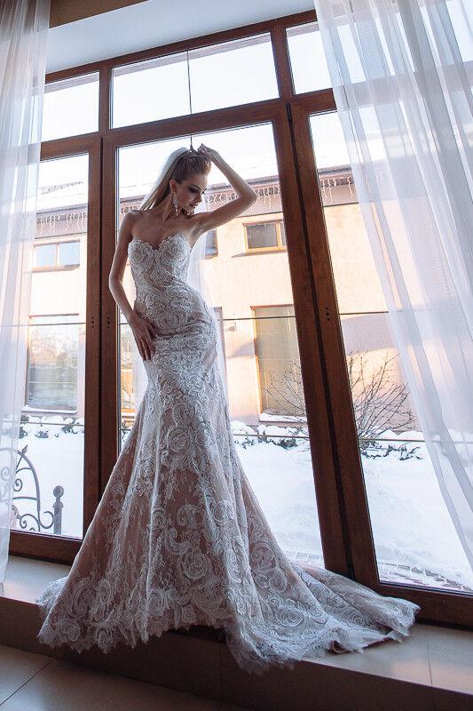 Свадебное платье напрокат Berkana Платье свадебное Naomi - фото 1