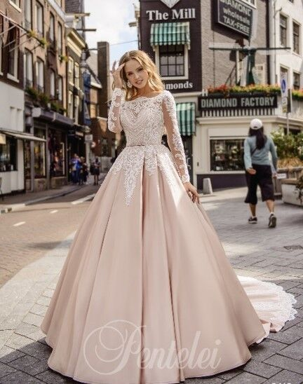 Свадебное платье напрокат Lavender Свадебное платье Kasandra - фото 1