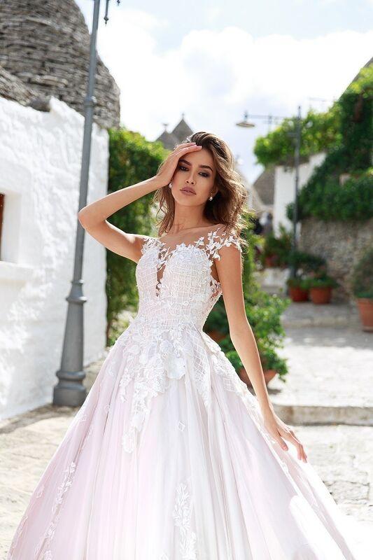 """Свадебное платье напрокат ALIZA свадебное платье """"Feona"""" - фото 4"""