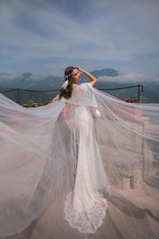 Свадебный салон Bonjour Galerie Платье свадебное ENKARNE из коллекции NEW COLLECTION - фото 8