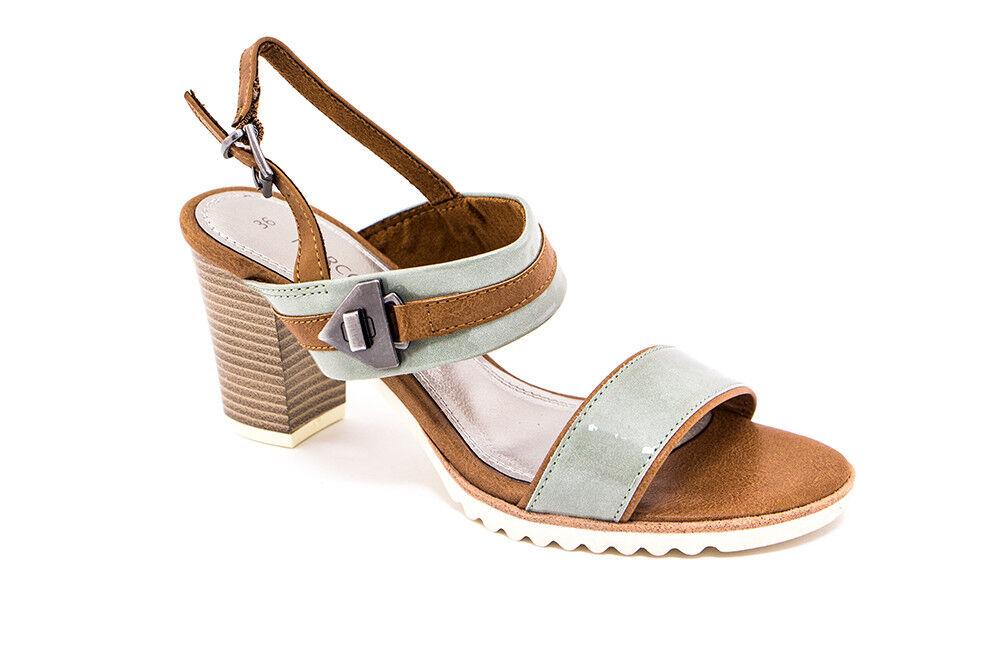 Обувь женская Marco Tozzi Босоножки женские 2-28704-28-730 - фото 1