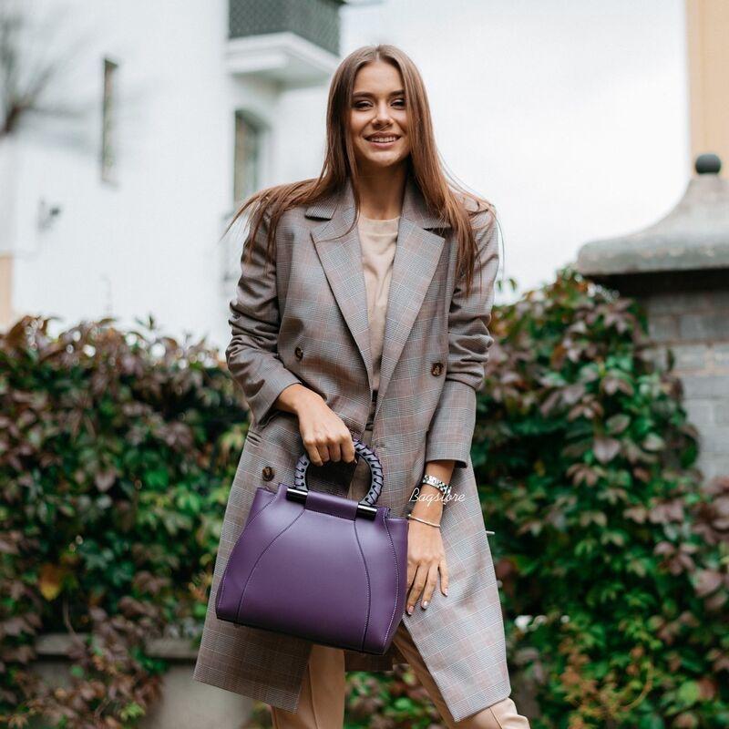Магазин сумок Vezze Кожаная женская сумка C00554 - фото 1