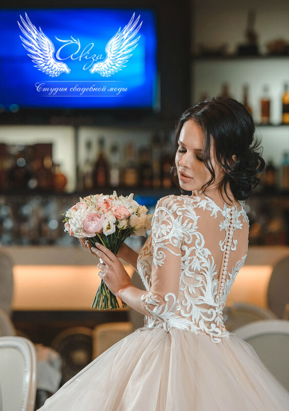 Свадебный салон ALIZA Cвадебное платье «Monica» Ameli Benya - фото 2