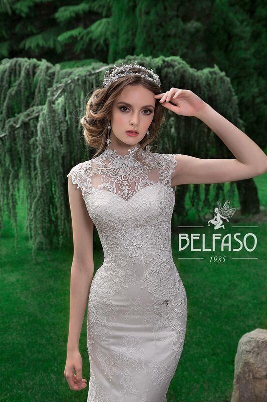 Свадебное платье напрокат Belfaso Платье свадебное Gvinet - фото 3