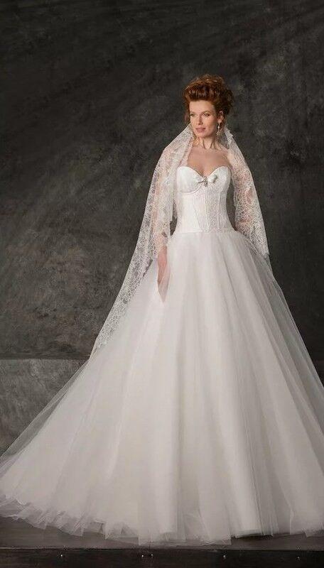 Свадебное платье напрокат Edelweis Платье свадебное «Nicole» - фото 2