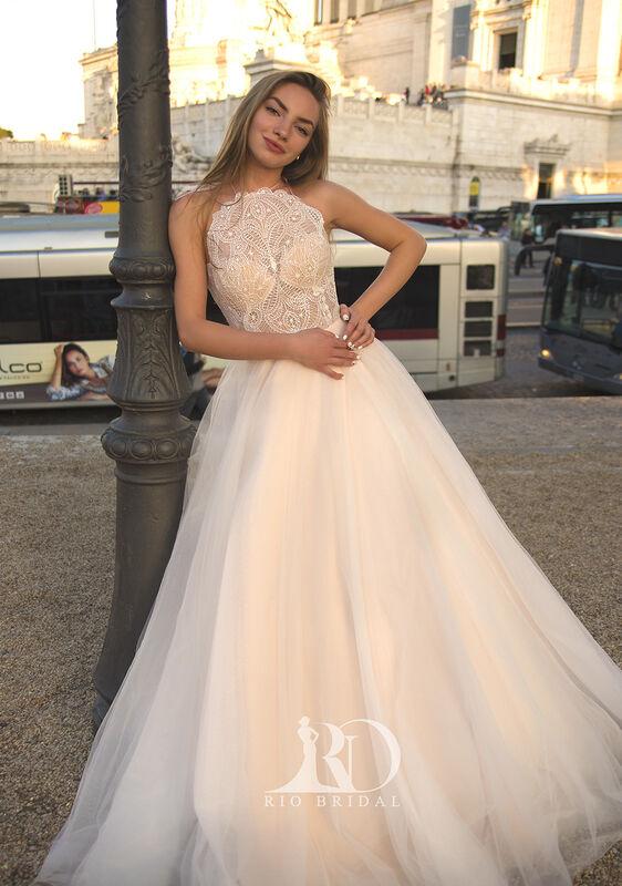 Свадебное платье напрокат Rafineza Свадебное платье Ingrit напрокат - фото 1
