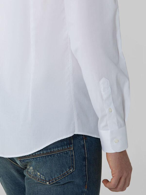 Кофта, рубашка, футболка мужская Trussardi Рубашка мужская 52C00155-1T004673 - фото 4