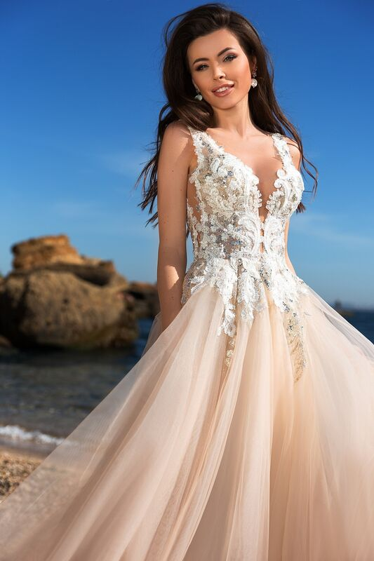 Свадебный салон Ida Torez Свадебное платье Cocles Braun - фото 2