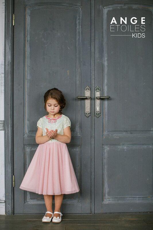 Вечернее платье Ange Etoiles Детское платье Kids Melissa - фото 1