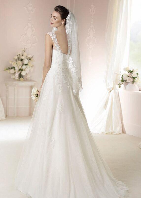 Свадебное платье напрокат White One (Pronovias) Платье свадебное «Dacey» - фото 2