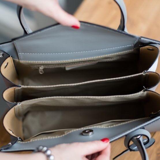 Магазин сумок Vezze Кожаная женская сумка C00456 - фото 2