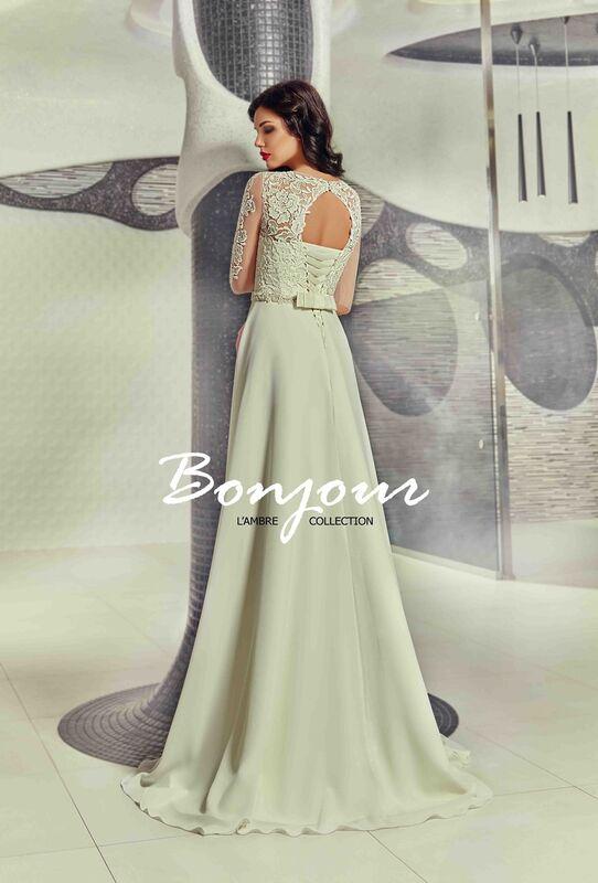 Свадебное платье напрокат Bonjour Платье свадебное «Viktoria» из коллекции L'ECLAT 2016 - фото 2