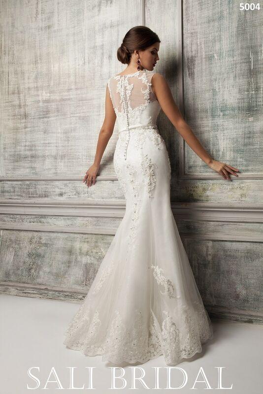 Свадебное платье напрокат Sali Bridal Платье свадебное 5004 - фото 2