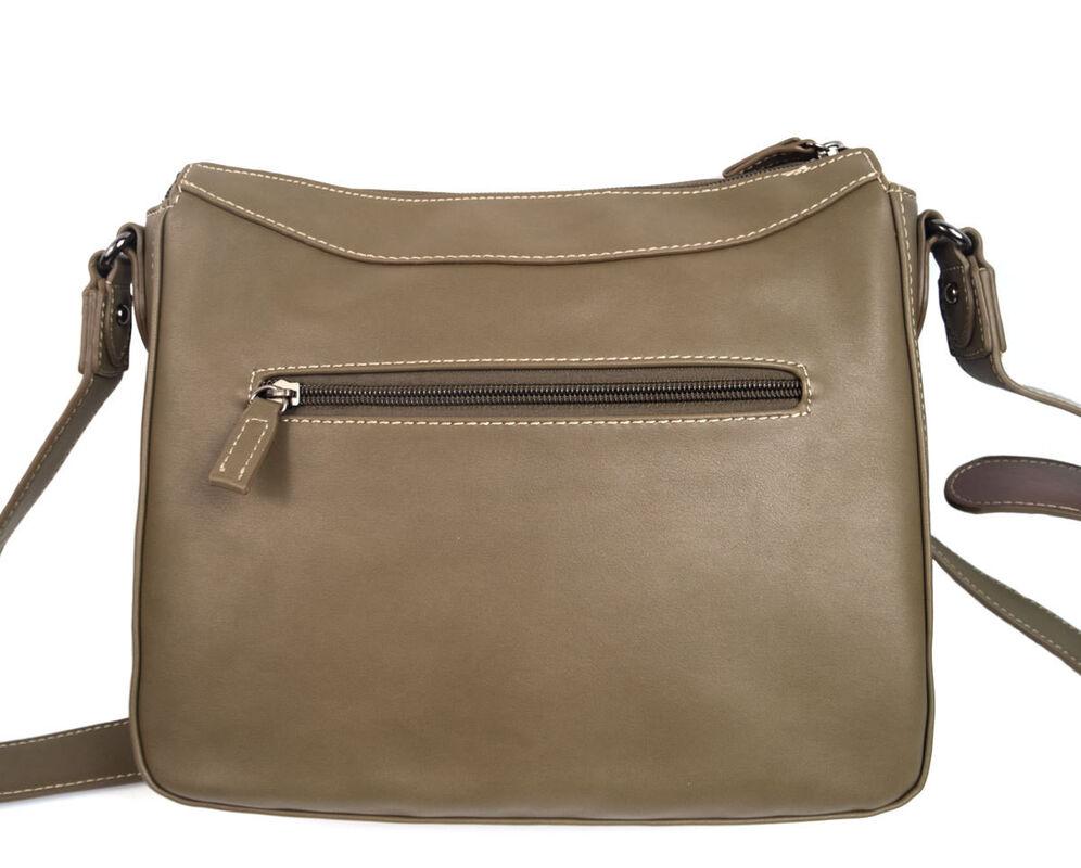 Магазин сумок David Jones Сумка женская коричневая 5612-1 - фото 2