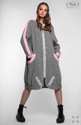 Платье женское Pintel™ Удлинённое платье-куртка  Limari - фото 7