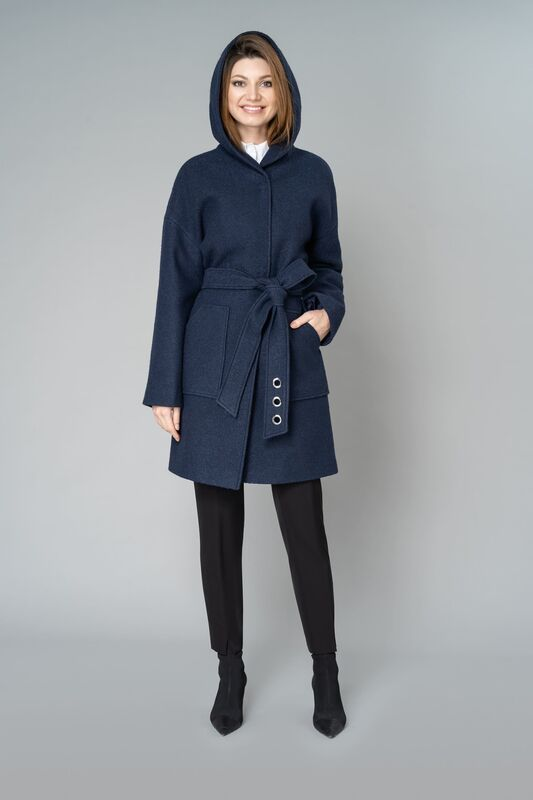 Верхняя одежда женская Elema Пальто женское демисезонное 1-9288-1 - фото 6