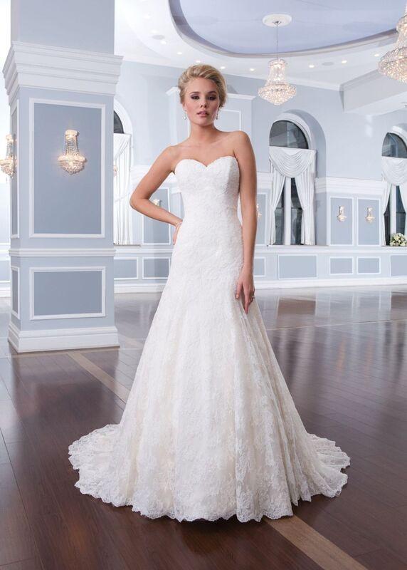 Свадебный салон Lillian West Свадебное платье «Alana» - фото 1