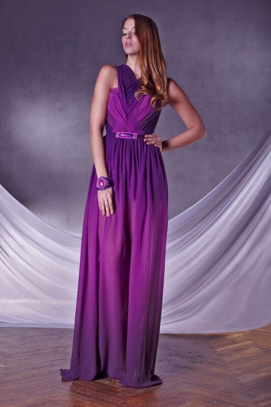 Белорусский дизайнер Jennifer Rusina Вечернее платье 016 - фото 1