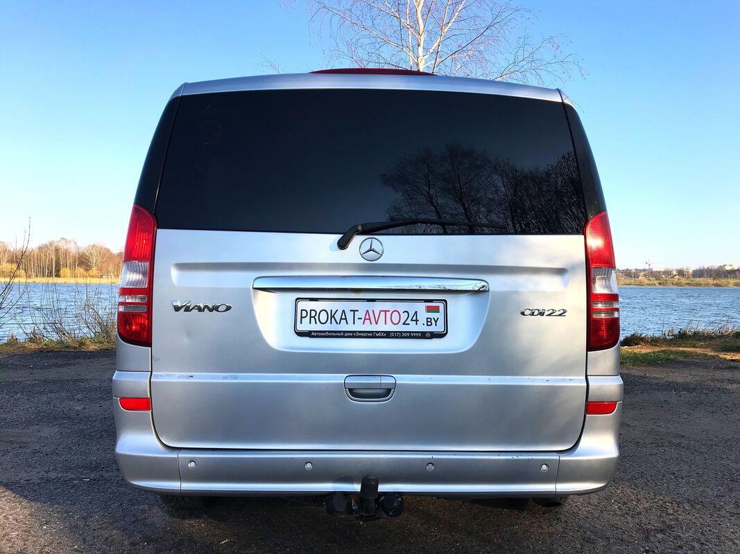 Прокат авто Mercedes-Benz Viano 2013 г.в. - фото 4