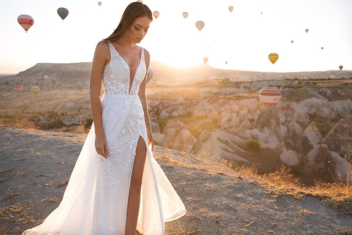 Свадебное платье напрокат Eva Lendel Kristina - фото 3