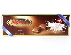 Подарок на Новый год Swiss Premium Шоколад Alprose молочный, 300 г - фото 1
