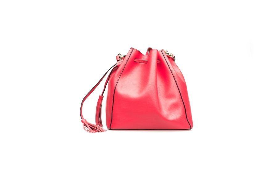 Магазин сумок BASCONI Сумка женская 1856 Red - фото 2