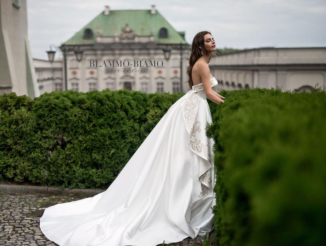 Свадебное платье напрокат Blammo-Biamo Платье свадебное The Rice Reinis - фото 3