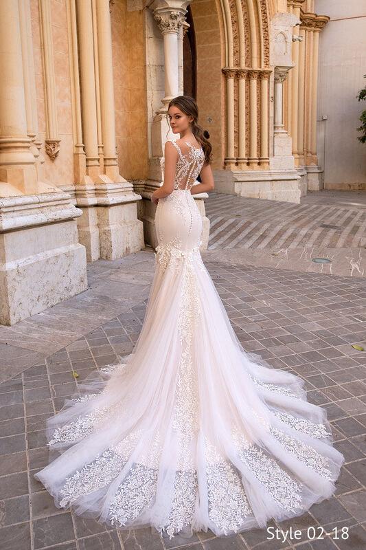Свадебное платье напрокат Giovanna Alessandro Свадебное платье Fresia - фото 3