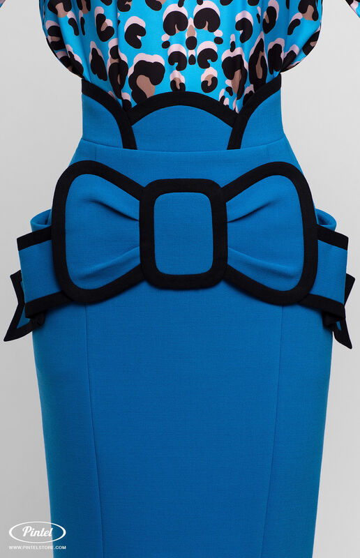 Костюм женский Pintel™ Комплект из блузы и юбки Brianna - фото 6