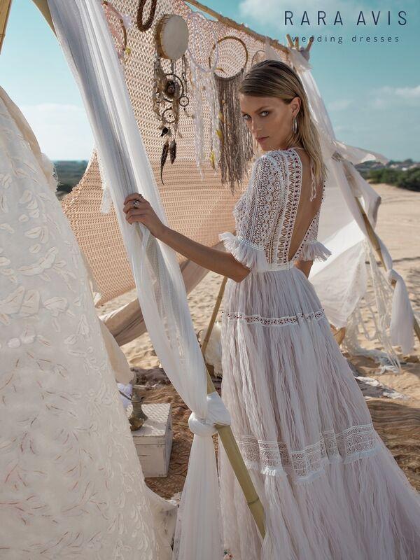 Свадебное платье напрокат Rara Avis Свадебное платье Wild Soul Marit - фото 4
