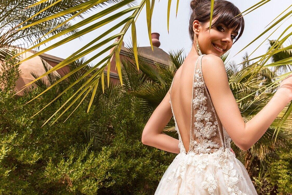 Свадебное платье напрокат Crystal Платье свадебное Rainbow - фото 4