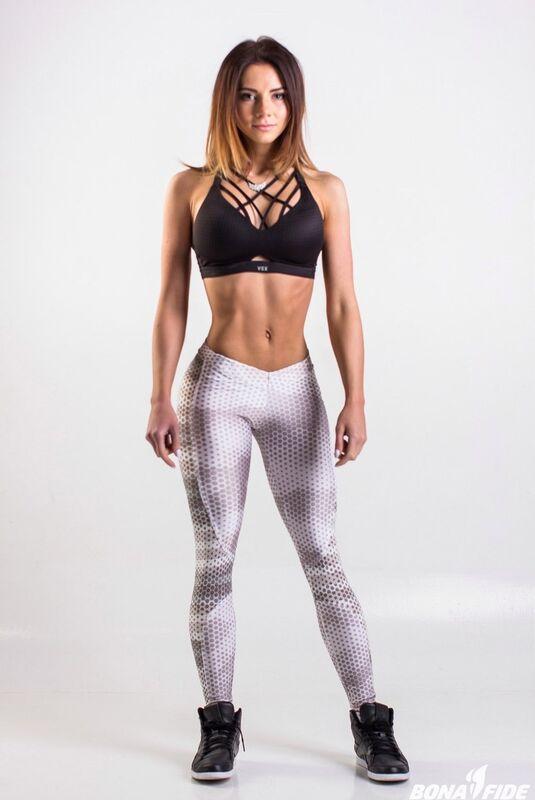 Спортивная одежда Bona Fide Лосины White Grid - фото 1