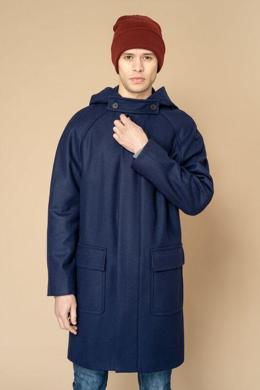 Верхняя одежда мужская Etelier Пальто мужское демисезонное 1М-8888-1 - фото 4