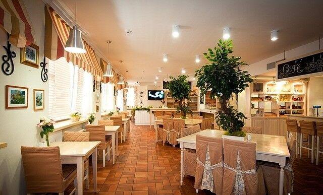 Ресторан и кафе на Новый год Бейкери дю солей Зал общий - фото 1