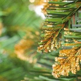 Елка и украшение GreenTerra Ель Канадская с золотистыми кончиками 1.8м - фото 2