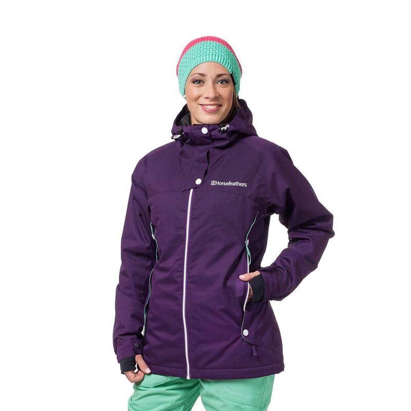Спортивная одежда Horsefeathers Сноубордическая куртка Marin 1516 фиолетовая - фото 1
