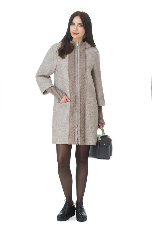 Верхняя одежда женская Elema Пальто женское демисезонное Т-7238 - фото 1