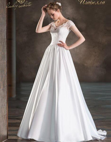 Свадебное платье напрокат Lady White Платье свадебное «Изабелла» - фото 1