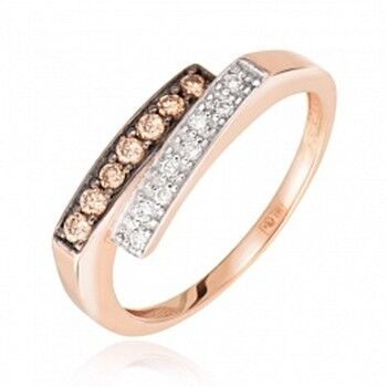 Ювелирный салон Jeweller Karat Кольцо золотое с бриллиантами арт. 1211709ш - фото 1