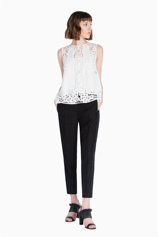 Кофта, блузка, футболка женская TWIN-SET Блуза S7T TS72AC - фото 1