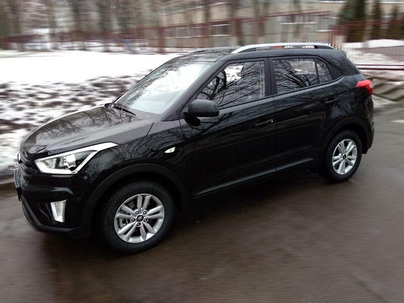 Прокат авто Hyundai Creta (2018 г.в, чёрный) - фото 5
