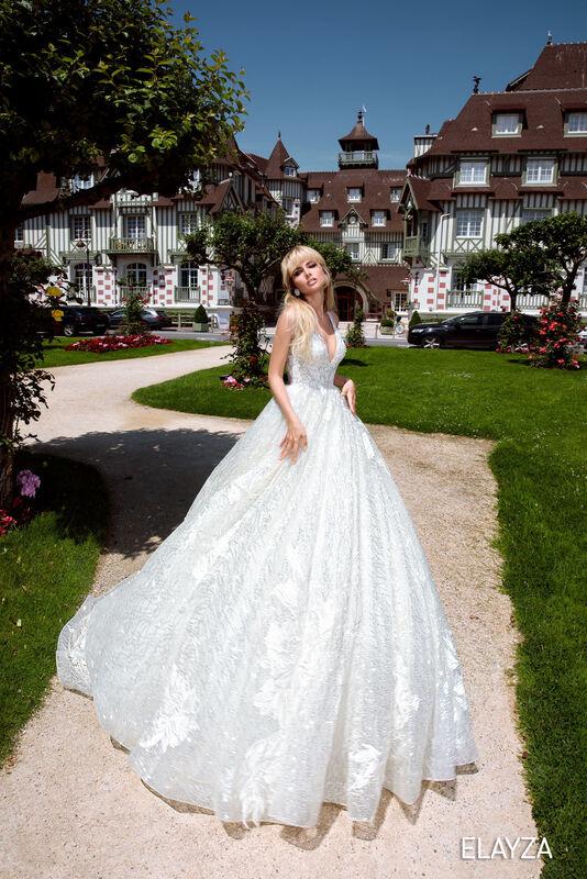 Свадебный салон Bonjour Galerie Свадебное платье ELAYZA из коллекции BON VOYAGE - фото 3