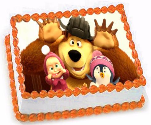 Торт Tortas Торт «Маша и медведь» №2 - фото 1