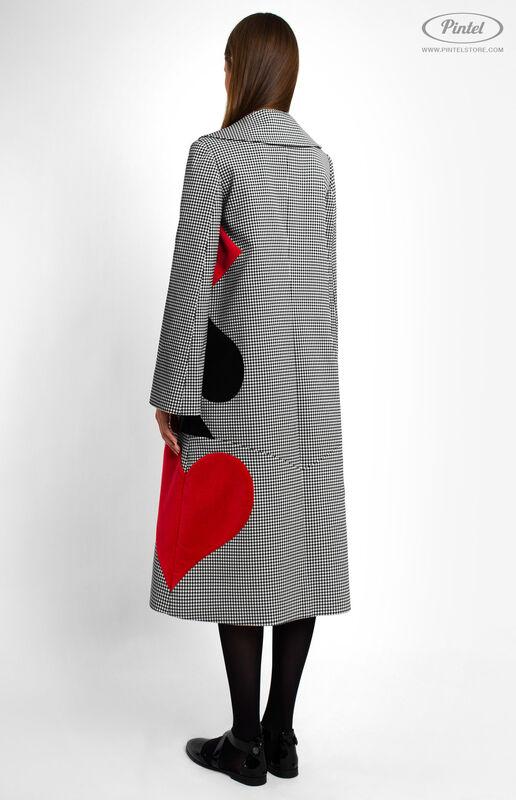 Верхняя одежда женская Pintel™ Однобортное пальто Samióna - фото 4