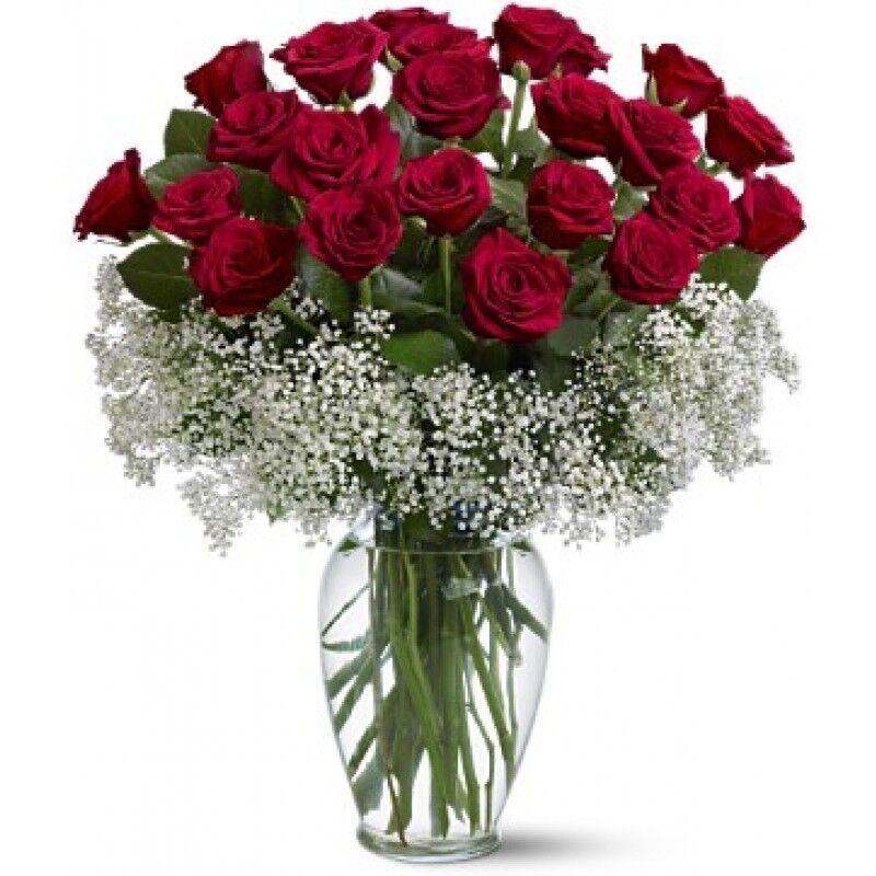 Открытка, розы гифка букет