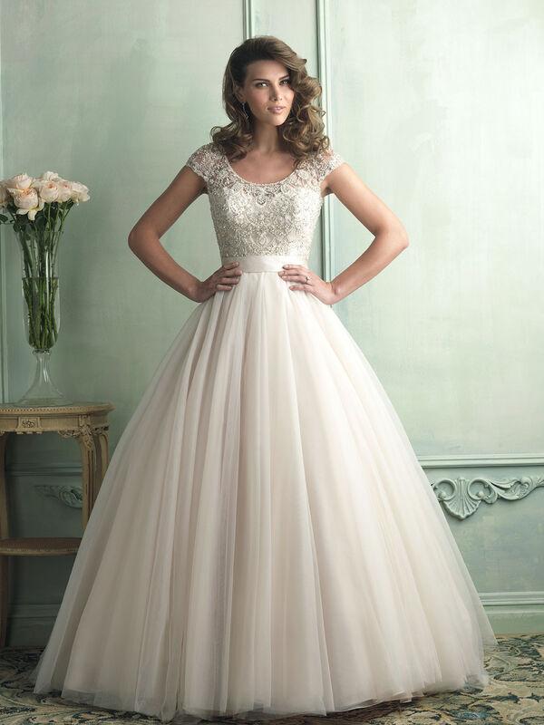 Свадебное платье напрокат Allure Bridals Платье свадебное 9100 - фото 1