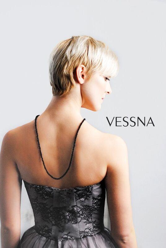 Вечернее платье Vessna Коктейльное платье арт.1201 из коллекции VESSNA Party - фото 2