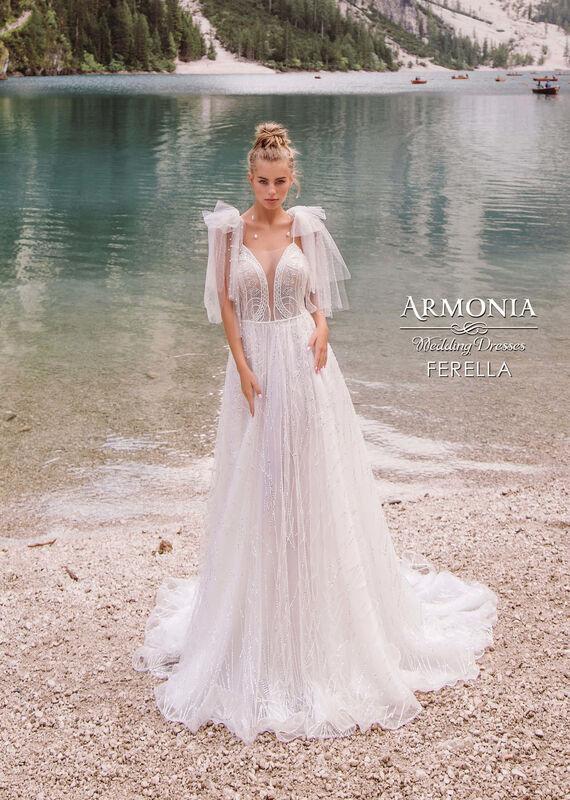 Свадебное платье напрокат Armonia Ferella - фото 1