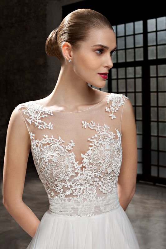 Свадебное платье напрокат Cosmobella Свадебное платье 7826 - фото 3